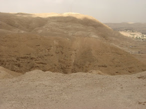 "Photo: IDF lookout over Yericho...תצפית צה""ל מעל יריחו"