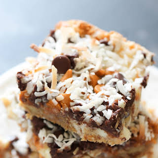 Seven Layer Magic Cookie Bars.