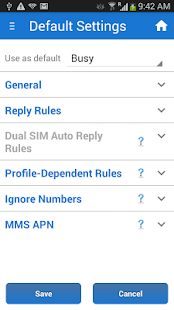 SMS Auto Reply Text PRO Screenshot