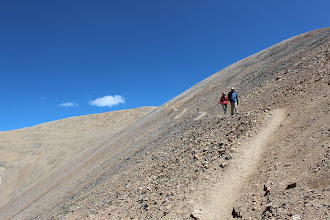 Photo: This looks easier than it was to hike down. It was loose dirt and rocks nearly the whole way down.