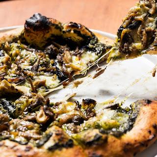 Roast Mushroom Pizza.