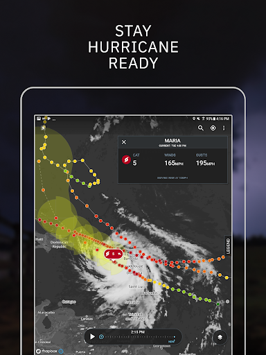 Storm Radar with NOAA Weather & Severe Warning app (apk) free download for Android/PC/Windows screenshot