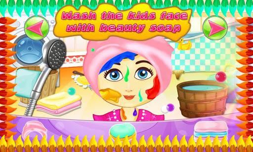 Baby Face Paint Wash Salon