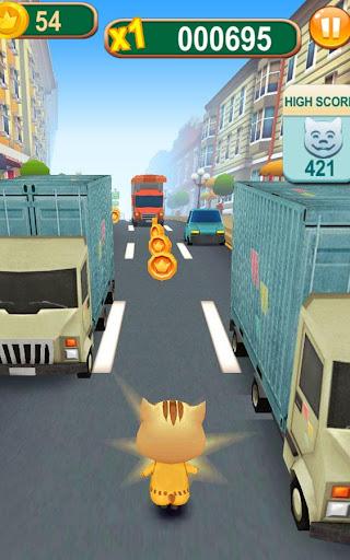 Subway Cat Runner -Online Rush Apk 2