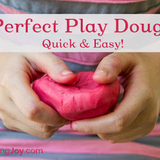 Perfect Homemade Play Dough.