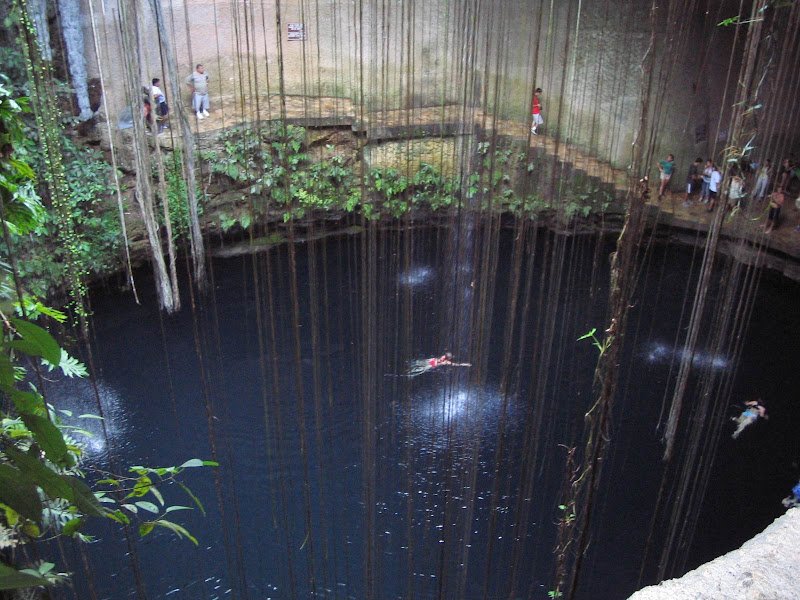 Cenote Sagrado Maya (Click to enlarge.)