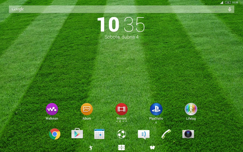 Google themes movies - Football Theme Screenshot