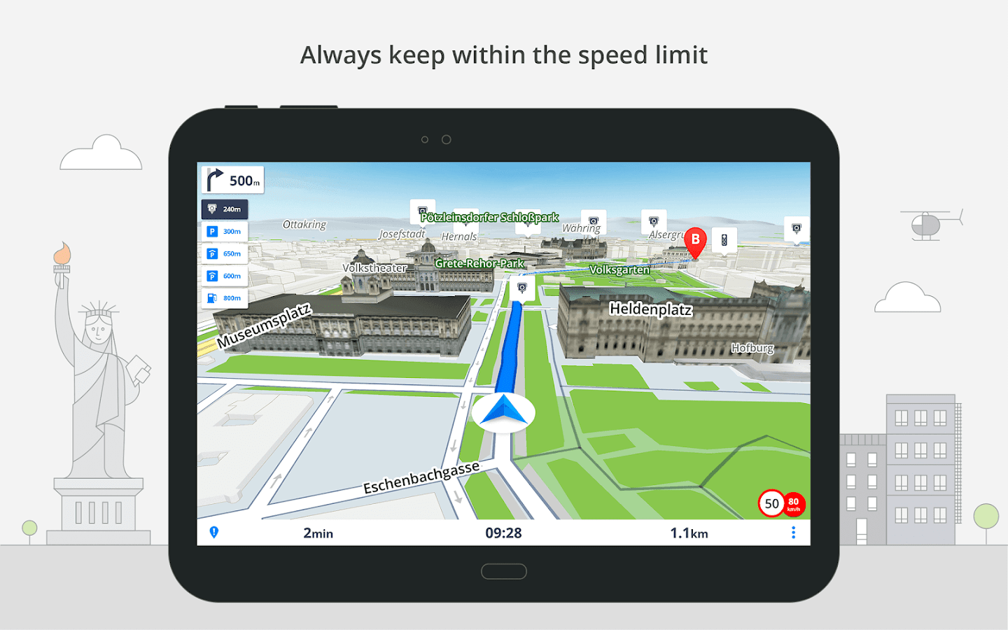 Sygic: GPS Navigation, Offline Maps & Directions- screenshot