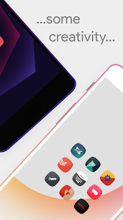 Talitha Squircle - Icon Pack screenshot