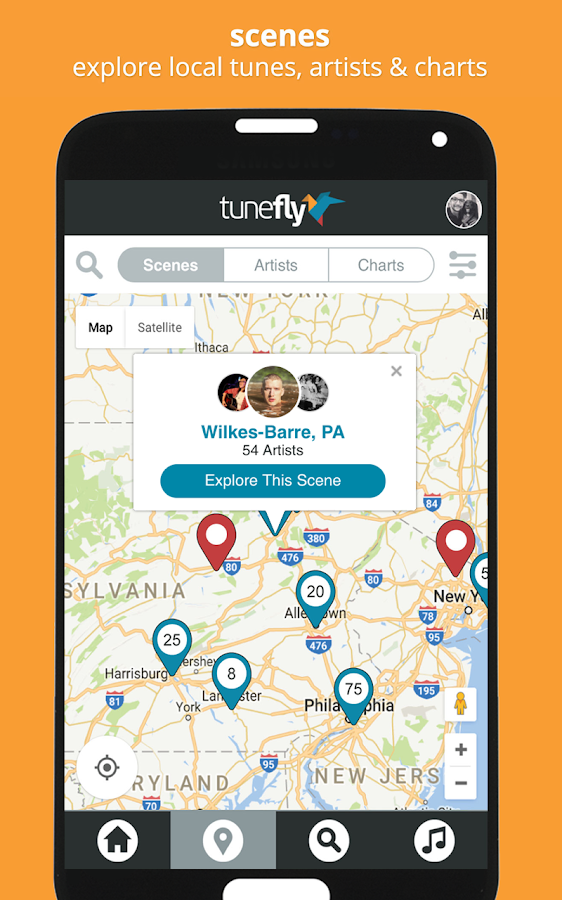 Tunefly - Discover Local Music- screenshot