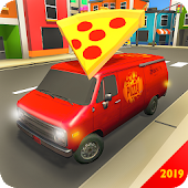 Pizza Delivery Van Virtual City Bike Moto Driving Android APK Download Free By Super Duper Studios