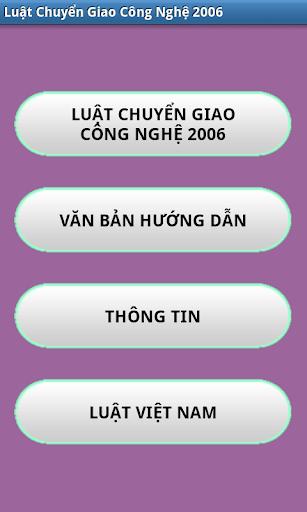 Luat Chuyen giao cong nghe VN