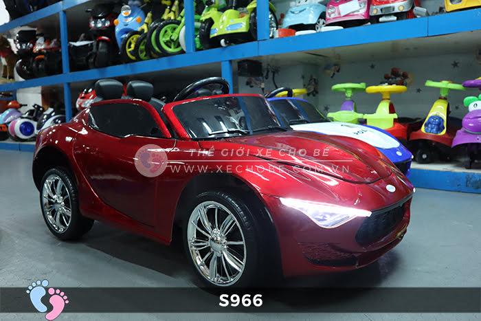 Xe ô tô điện cảnh sát XYS-966 4