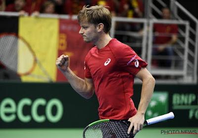 Sterk werk: David Goffin loodst België naar kwartfinales Davis Cup