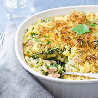 Southern Ham and Kale Hotdish