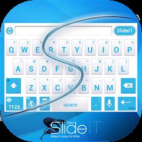 SlideIT Abstract Blue Skin