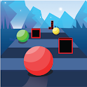 Ball Race on Color Road Jumping Ball icon