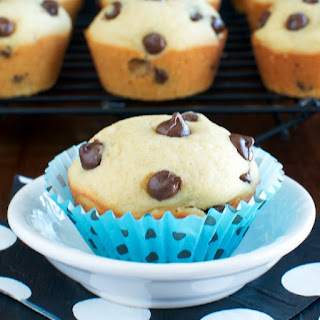 Light and Fluffy Chocolate Chip Muffins