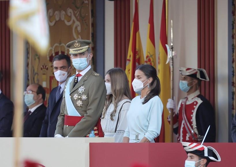 El rey Felipe y la reina Letizia.