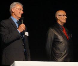 Photo: 10- L'ancien Pérsident Guy JOIE présente son successeur Jean Marie FLORES