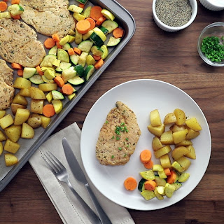 Sheet Pan Chicken and Veggies Recipe