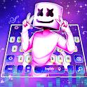 Galaxy Neon DJ Keyboard Theme icon