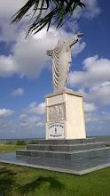 Photo: Fisherman's Memorial statue Palacios