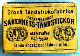 Photo: Strömbacka, här fanns även en tändsticksfabrik omkring år 1900