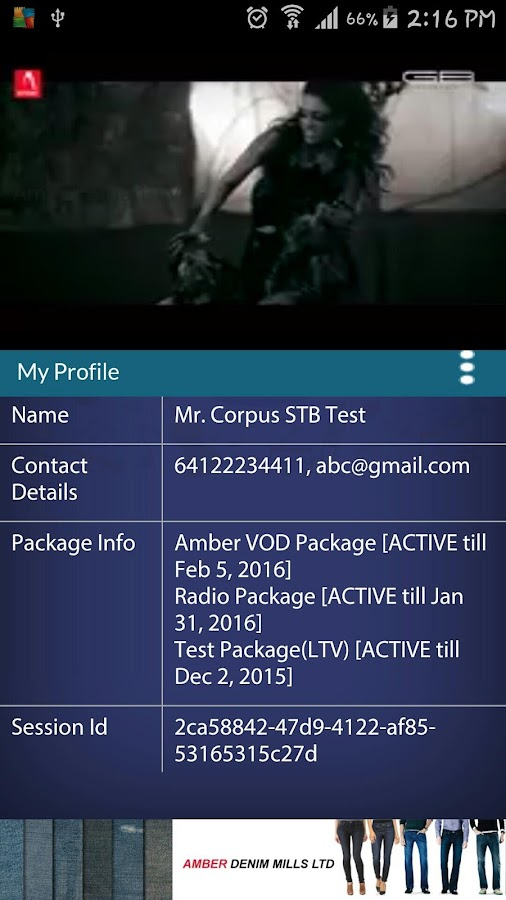 Amber Smart TV- screenshot