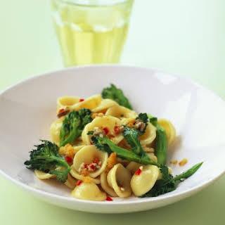 Broccoli and Chilli Pasta.