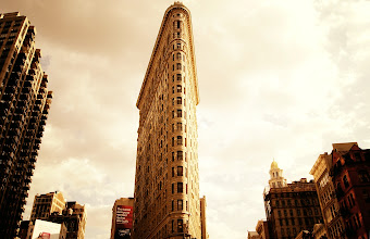 Photo: The Flatiron Building.   New York City.  View the writing that accompanies this post here at this link on Google Plus:  https://plus.google.com/108527329601014444443/posts/8k8Z5ApQuNK  View more New York City photography by Vivienne Gucwa here:  http://nythroughthelens.com/