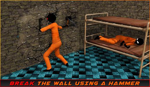 Stickman Prison Escape Story  screenshots 11