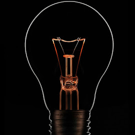 by Gerry Morgan - Products & Objects Technology Objects ( element, orange, bulb, hot, electricity, light, fire )