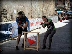 Photo: Prmier equipo Promoción entrando a meta