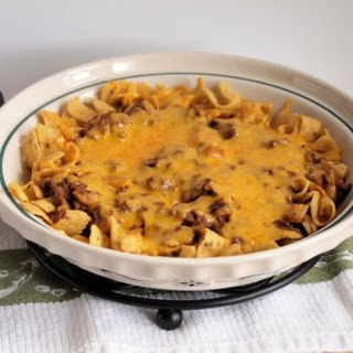 Cincinnati Chili Frito Pie