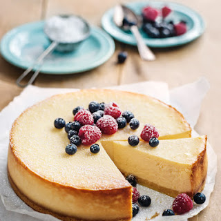 Baked Cheesecake No Base Recipes.