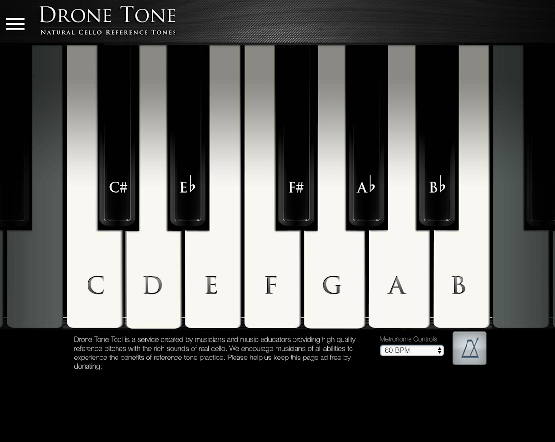Drone Tone Tool- screenshot