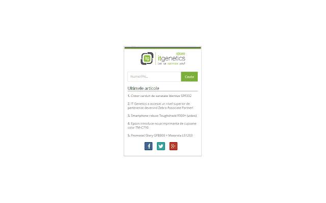 ITGStore.ro Extension