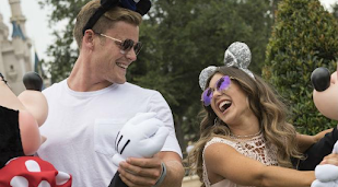 Louise Thompson and Ryan Libbey watch Disney Channel every weekend