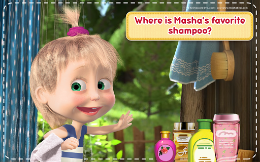 Masha and the Bear: House Cleaning Games for Girls  screenshots 20