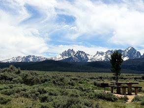 Photo: Sawtooth Range from Stanley, Idaho