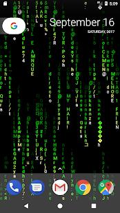 Matrix Twit Live Wallpaper - náhled