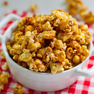 Caramel Corn Popcorn Without Corn Syrup Recipes