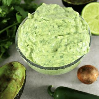 Creamy Avocado Sauce Recipes