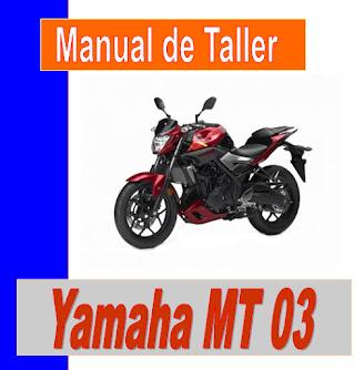 Yamaha MT 03-manual-taller-despiece-mecanica