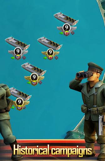 Frontline: Western Front - WW2 Strategy War Game screenshots 4