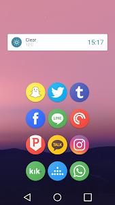 Pixel Icon Pack-Nougat Free UI screenshot 2