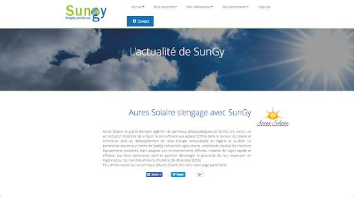 L'actu de SunGy