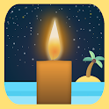🕯️Candle light: MEDITATION🤔, RELAX😌 and SLEEP😴 icon