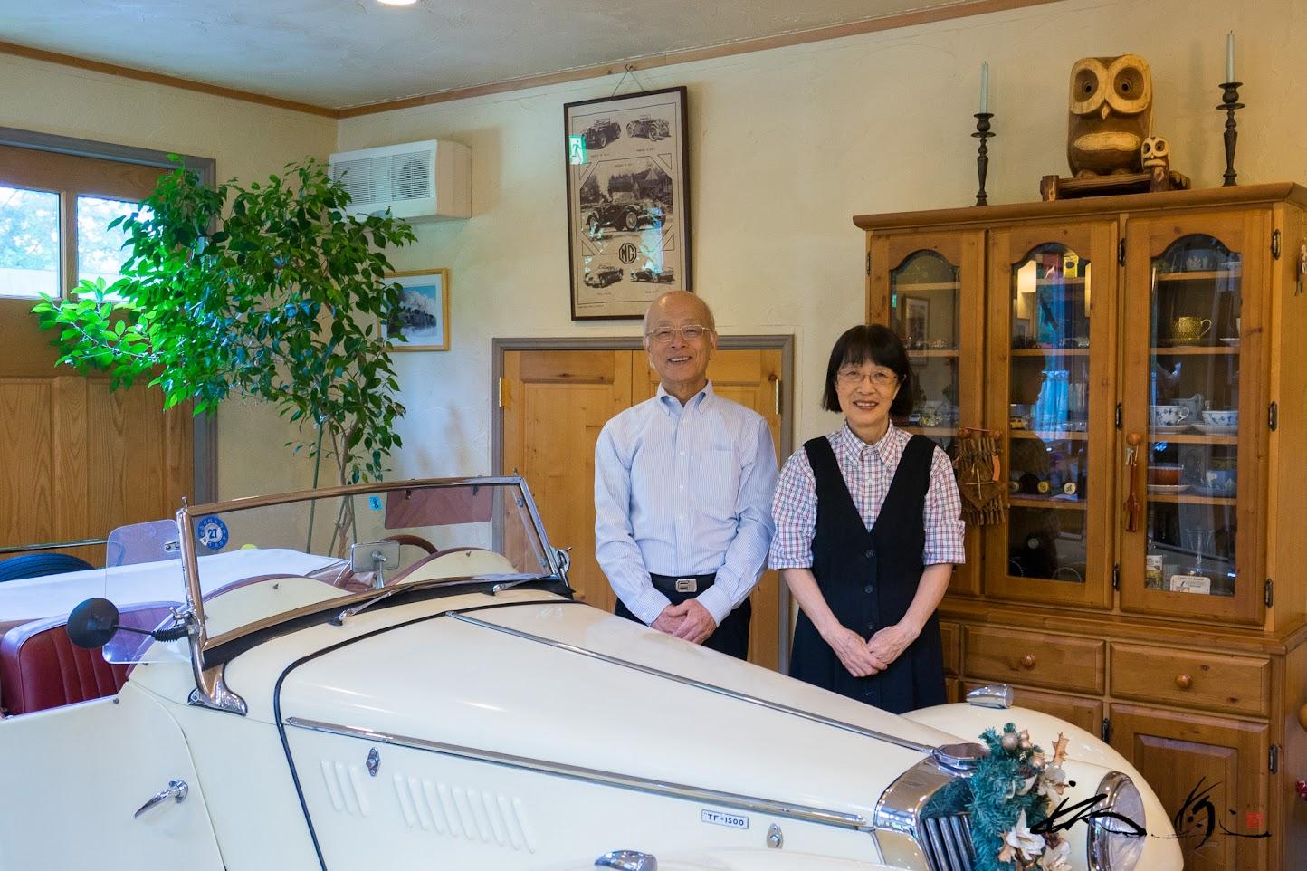 オーナーの松室勲さん・靖子さんご夫妻